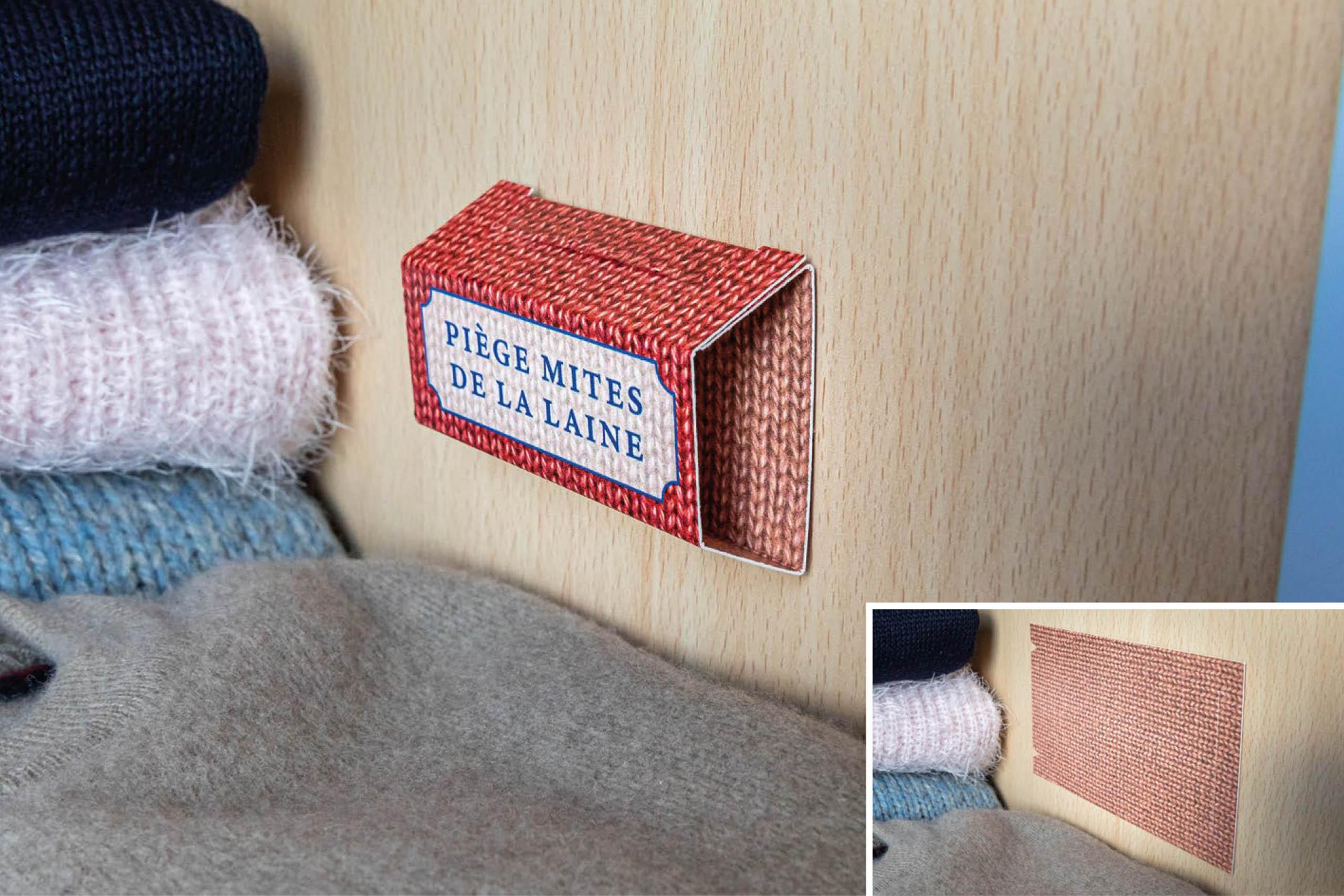 trappola tarme della lana